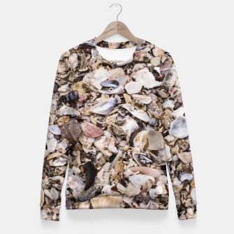 Broken shells Fitted Waist Sweater Bild der Miniatur