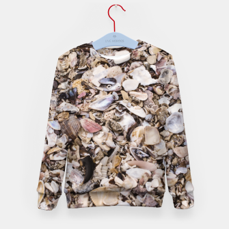 Broken shells Kid's Sweater Bild der Miniatur