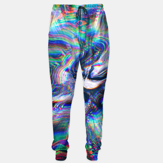 Miniatur Abstract Marble Glitch Sweatpants, Live Heroes