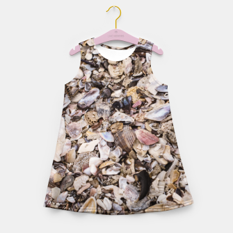 Broken shells Girl's Summer Dress Bild der Miniatur