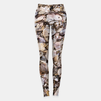 Broken shells Leggings Bild der Miniatur