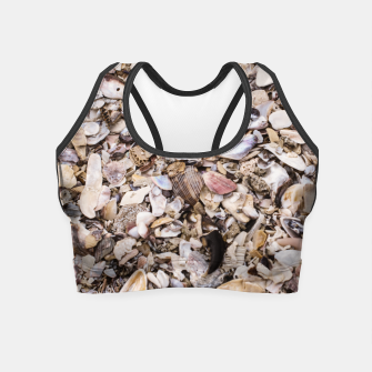 Broken shells Crop Top Bild der Miniatur