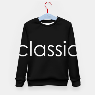 Thumbnail image of classic Kid's Sweater, Live Heroes