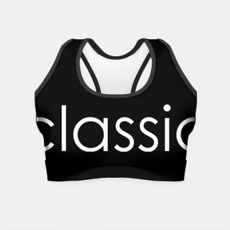 Thumbnail image of classic Crop Top, Live Heroes