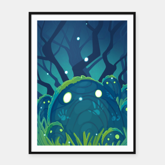 Miniatur Stone Magic Framed poster, Live Heroes