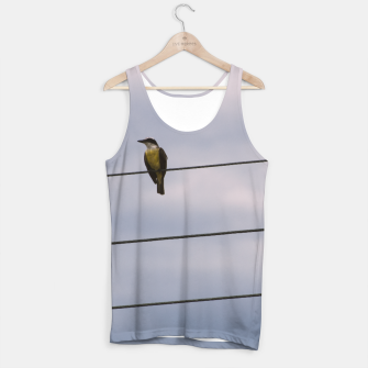 Miniatur Birds on wires Tank Top, Live Heroes