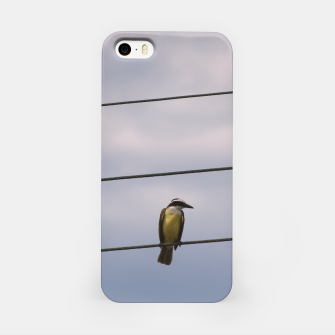 Miniatur Birds on wires iPhone Case, Live Heroes