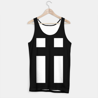 Thumbnail image of Cross_Tank_Top_Black, Live Heroes