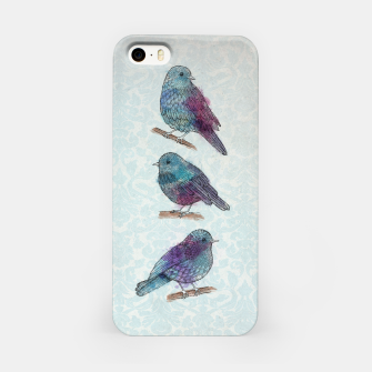 Miniatur Fluffy Birds iPhone Case, Live Heroes