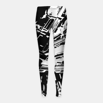 Thumbnail image of Hyper Zen Girl's Leggings, Live Heroes