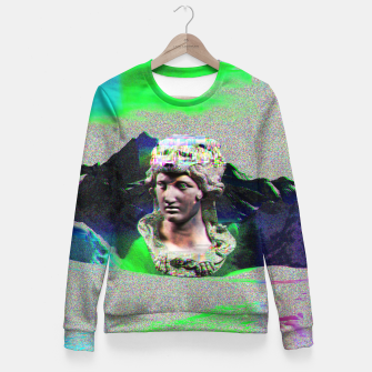 Miniatur a lot of glitch Fitted Waist Sweater, Live Heroes
