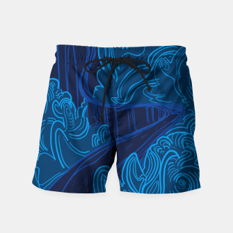 Miniatur Road to Spooky Castle Swim Shorts, Live Heroes