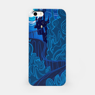 Miniatur Road to Spooky Castle iPhone Case, Live Heroes
