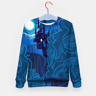 Miniatur Road to Spooky Castle Kid's Sweater, Live Heroes