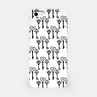 Miniature de image de Ancient keys iPhone Case, Live Heroes