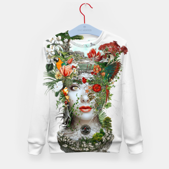 Thumbnail image of Women Kid's Sweater, Live Heroes