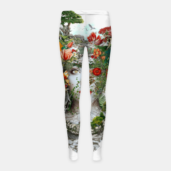 Thumbnail image of Women Girl's Leggings, Live Heroes