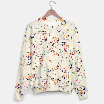 Thumbnail image of fun pattern Sweater, Live Heroes