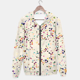 Thumbnail image of fun pattern Hoodie, Live Heroes