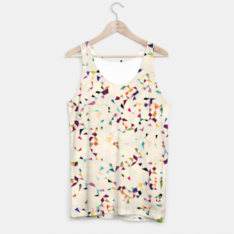 Thumbnail image of fun pattern Tank Top, Live Heroes