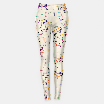 Thumbnail image of fun pattern Leggings, Live Heroes