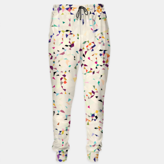 Thumbnail image of fun pattern Sweatpants, Live Heroes