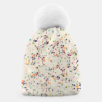 Thumbnail image of fun pattern Beanie, Live Heroes