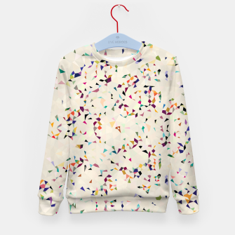 Thumbnail image of fun pattern Kid's Sweater, Live Heroes