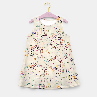 Thumbnail image of fun pattern Girl's Summer Dress, Live Heroes