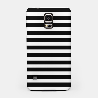 Miniatur Black Stripes seamless pattern Samsung Case, Live Heroes