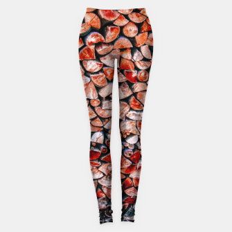 Miniatur Forest in another life Leggings, Live Heroes