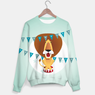 Thumbnail image of Circus Lion –  Sweatshirt, Live Heroes