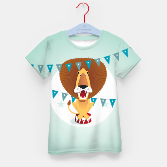 Thumbnail image of Circus Lion –  T-Shirt für Kinder, Live Heroes