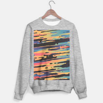 Trippy Dawntime Sweater regular Bild der Miniatur