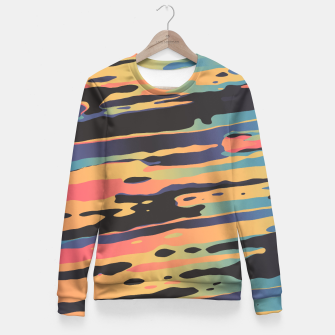 Trippy Dawntime Fitted Waist Sweater Bild der Miniatur