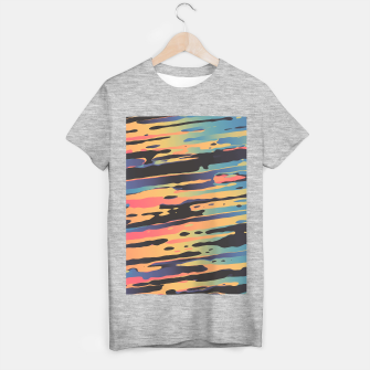 Trippy Dawntime T-shirt regular Bild der Miniatur