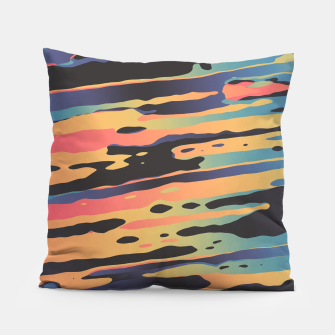 Trippy Dawntime Pillow Bild der Miniatur