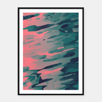Thumbnail image of Red Cosmic Cheese Framed poster, Live Heroes