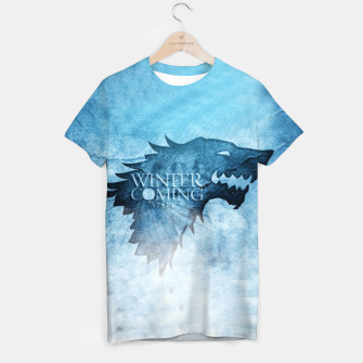 Thumbnail image of Winter Is Coming - Games Of Thrones T-shirt, Live Heroes