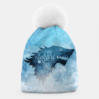Miniatur Winter Is Coming - Games Of Thrones Bonnet, Live Heroes