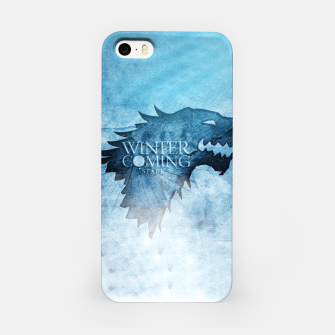 Thumbnail image of Winter Is Coming - Games Of Thrones Étui pour Iphone, Live Heroes