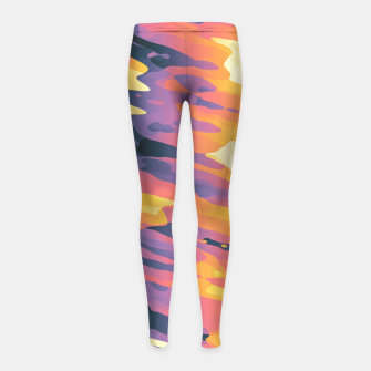 Miniaturka Plasmic Ejection Girl's Leggings, Live Heroes