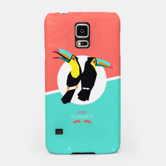 Thumbnail image of Cool summer toucans –  Handyhülle für Samsung, Live Heroes