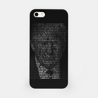 Miniatur Trump Quotes iPhone Case, Live Heroes