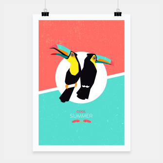 Thumbnail image of Cool summer toucans –  Plakat, Live Heroes