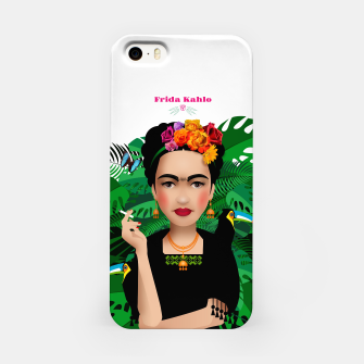 Miniatur Frida Kahlo iPhone Case, Live Heroes