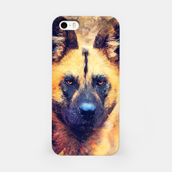 Thumbnail image of African wild dog Obudowa iPhone, Live Heroes