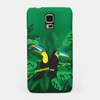 Tropical toucans Samsung Case thumbnail image