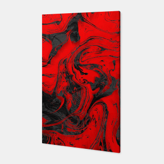 Thumbnail image of Black & Red Marble Canvas, Live Heroes