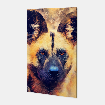 Thumbnail image of African wild dog Canvas, Live Heroes
